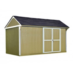 Handy Home Lexington 12×8 Wood Storage Shed Kit (19626-3)