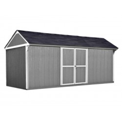 Handy Home Lexington 16×10 Wood Storage Shed Kit (19628-7)