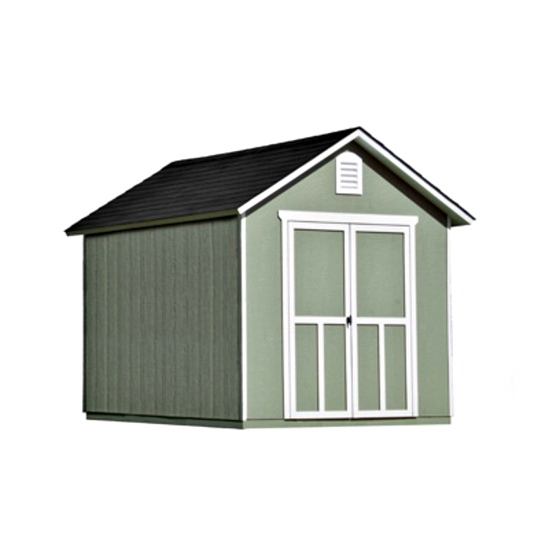 Handy Home Meridian 8×10 Wood Storage Shed Kit (19347-7)