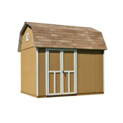 Handy Home Briarwood 10×8 Wood Storage Shed Kit (19351-4)