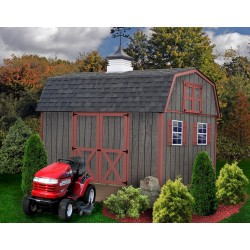 Best Barns Meadowbrook 12x10 Wood Storage Shed Kit (meadowbrook_1012)