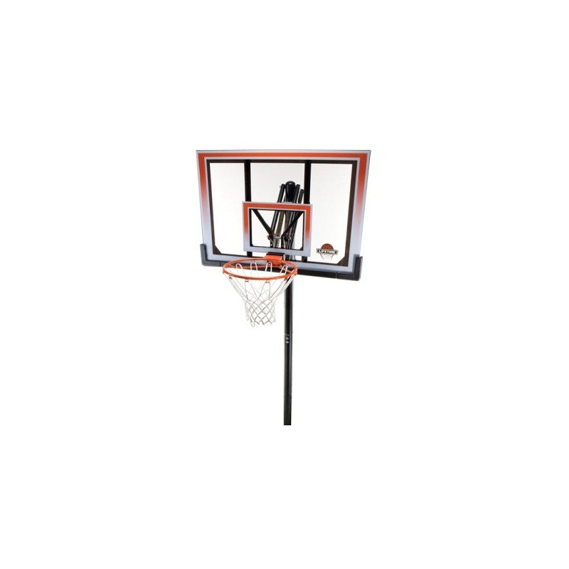Lifetime 50 in. In-Ground Shatter Proof Easy Lift Basketball System (71799)