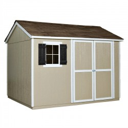 Handy Home Avondale 10x8 Wood Storage Shed Kit (AVD108)