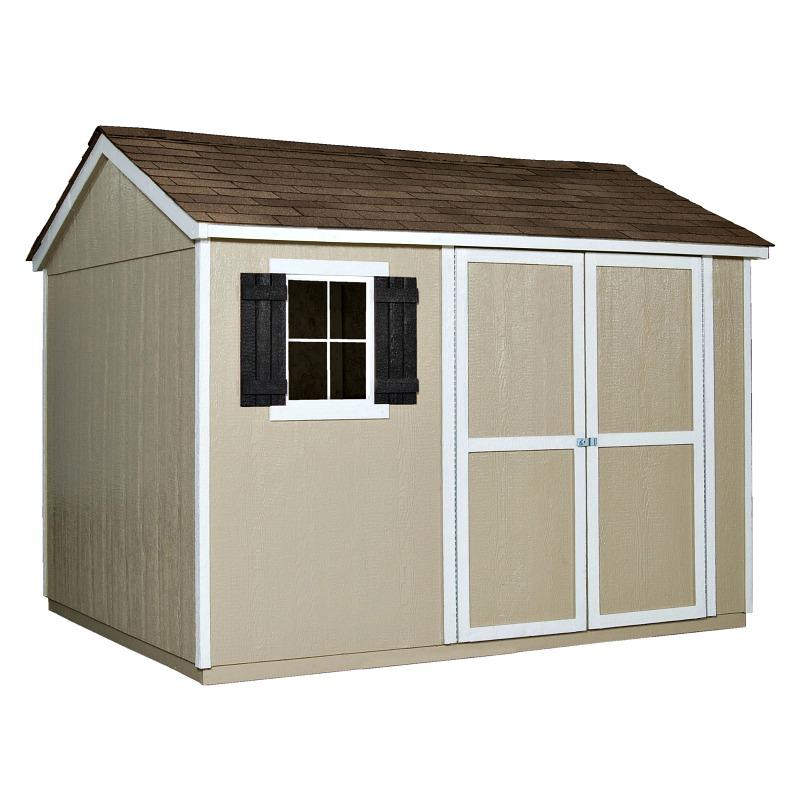 Handy Home Avondale 10x8 Wood Storage Shed Kit (AVD108)