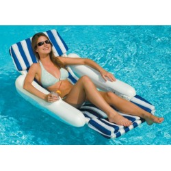 Blue Wave Sunchaser Padded Floating Lounger (NT140)