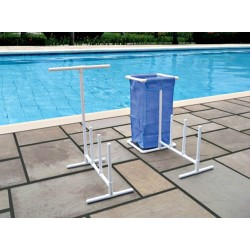 Blue Wave Poolside Organizer With Hamper (NT127)