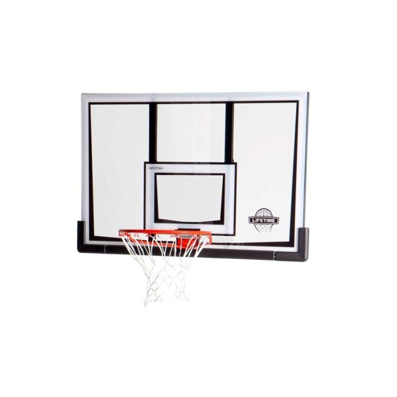 Lifetime 52 in. Basketball Backboard & Rim Combo (90087)