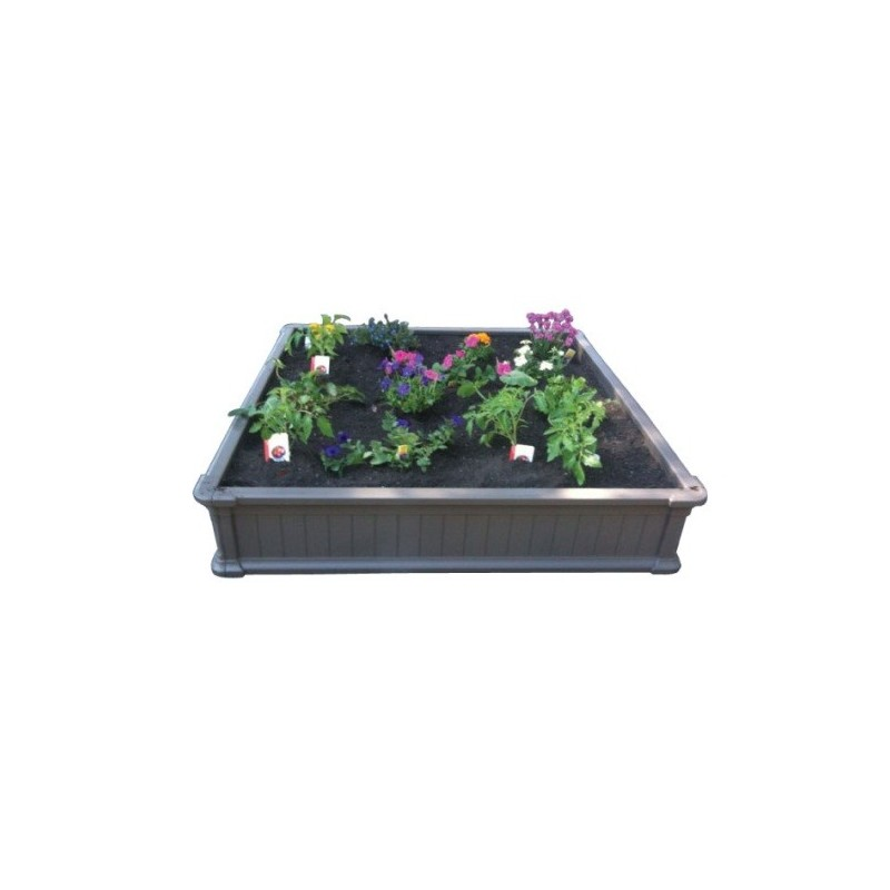 Lifetime Raised Garden Bed (1 Bed, No Vinyl Enclosure) 60065