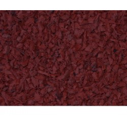 Rubber Mulch Brick Red (1 ton)