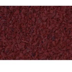 Rubber Mulch Brick Red (1 ton)