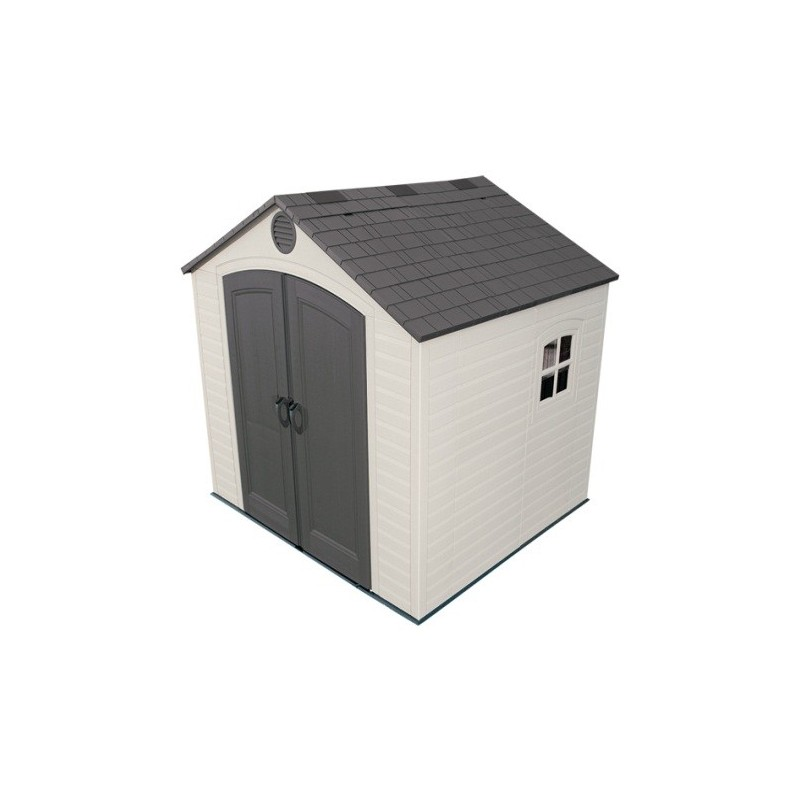 Lifetime 8 x 7.5 ft Outdoor Storage Shed 6411