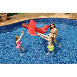 Blue Wave Red Airplane Glider Inflatable Pool Toy (NT2132)