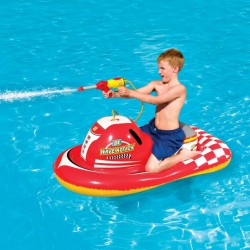 Blue Wave Wave Attack 55 In. Inflatable Ride-On Pool Toy (NT2756)