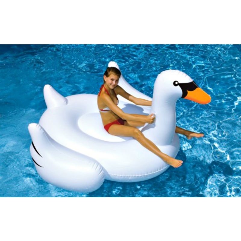 Blue Wave Giant Ridable Swan (NT268)