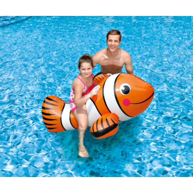 Blue Wave Giant Clown Fish Ride-On (NT2690)