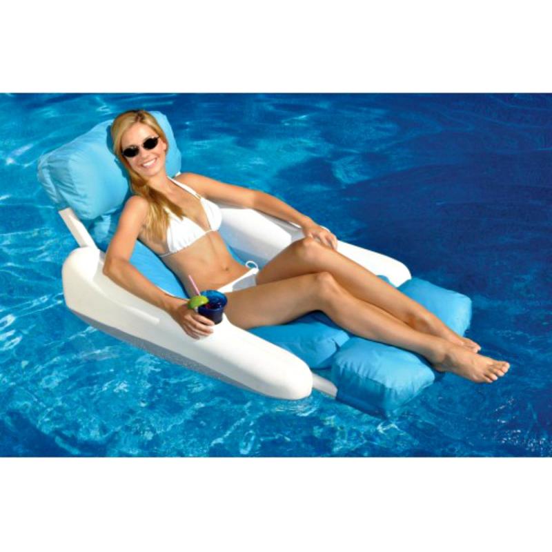 Blue Wave Sunchaser Sunsoft Luxury Lounger (NT142)