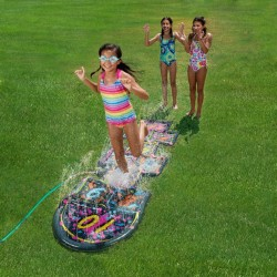 Blue Wave 3D Action Hopscotch Sprinkler Mat (NT2138)