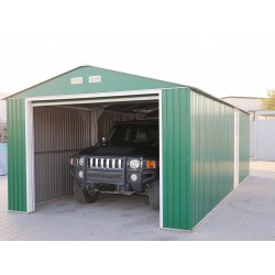 DuraMax 12x20 Imperial Steel Storage Garage Kit - Green (50961)