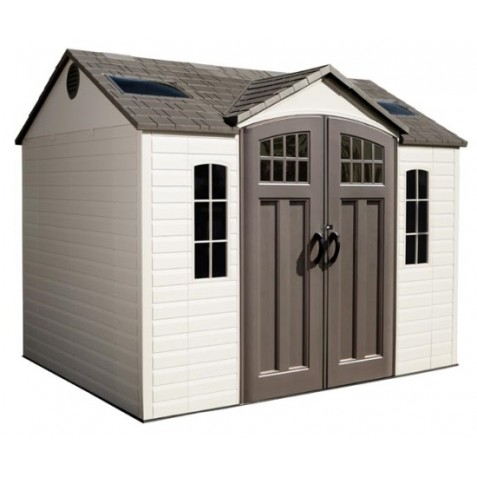 Lifetime 10x8 Side Entry Storage Shed w/ Floor (60095)