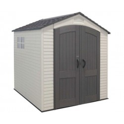 Lifetime 7 x 7 ft Outdoor Storage Shed with 2 Windows 60042