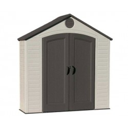 Lifetime 8x2.5 ft Plastic Storage Shed Kit (6413)
