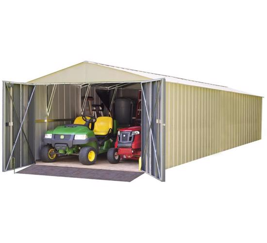 Arrow 10x30 Commander Storage Building Kit (CHD1030) - Perfect storage garage for any types of vehicles.