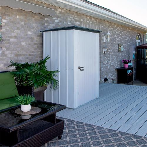 Arrow 4x3 Spacemaker Storage Shed Kit (PS43) Ideal addtion to your patio or deck.