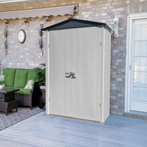 Arrow 6x3 Spacemaker Storage Shed Kit (PS63) Ideal addition to any backyard setting.