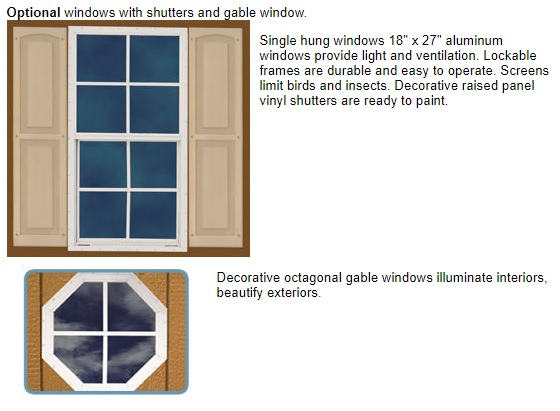 Best Barns Cambridge 10x12 Wood Storage Shed Kit
