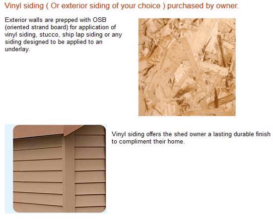 Best Barns Weston 12x16 Wood Garage Kit - All Pre-Cut (weston_1216) Siding Material