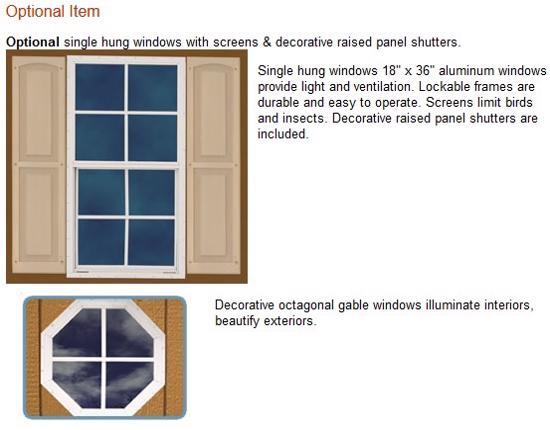Best Barns Weston 12x16 Wood Garage Kit - All Pre-Cut (weston_1216) Optional Windows