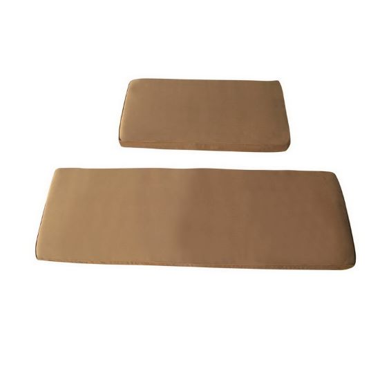 Blue Wave Radiant Sauna Seat Cushion for 3 Person Corner Sauna - Brown (SA7002) - Relax and enjoy your sauna with this cushion.