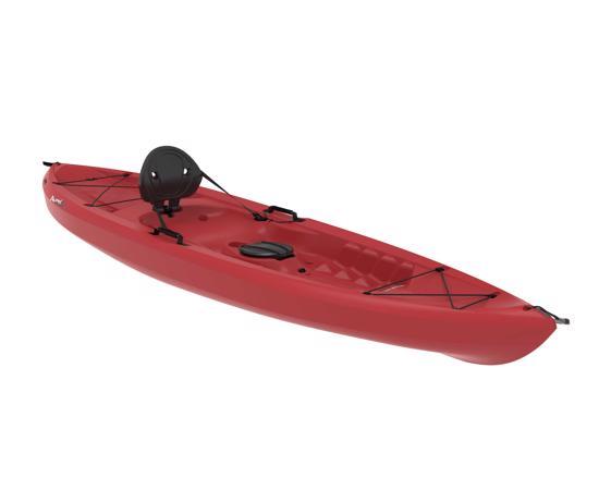 Lifetime 10 ft Sit-On-Top Tamarack 120 Kayak - Red (90236) - Perfect kayak for your paddling adventures