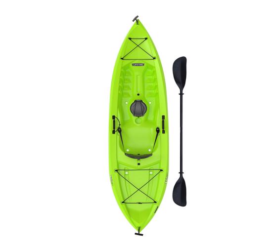 Lifetime 10 Ft Sit-On-Top Tioga 120 Kayak - Lime Green (90534) - Designed for extreme safety and stability