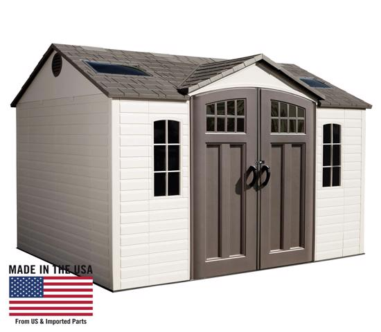 Lifetime 10x8 Side Entry Storage Shed Kit w/ Floor (60178) - Perfect and fabulous addition to your backyard.