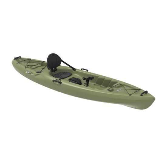 Lifetime 11 Ft Sit-On-Top Weber 132 Angler Kayak - Light Olive (90609) - Best fishing kayak in the market