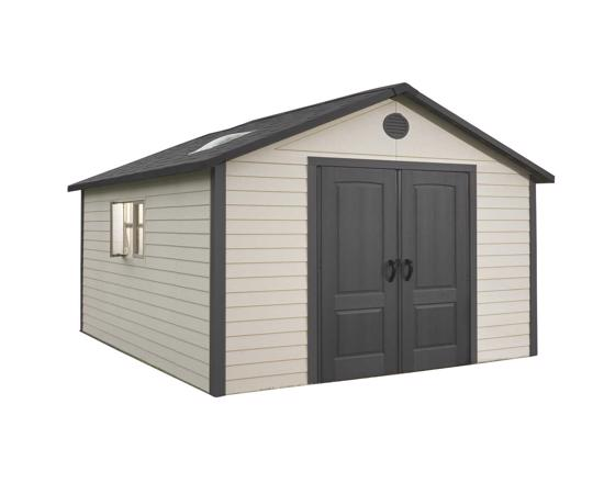 Lifetime 11x13.5 ft Outdoor Storage Shed Kit (6415) -  Provide the perfect space for a tool shop.