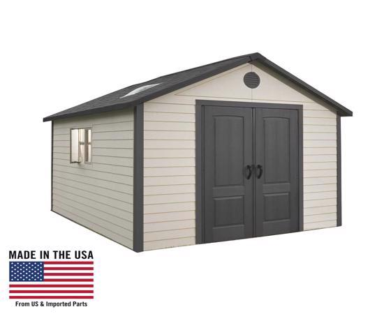 Lifetime 11x23.5 Outdoor Storage Shed Kit (6415 / 40125) - Excellent storage solutions.