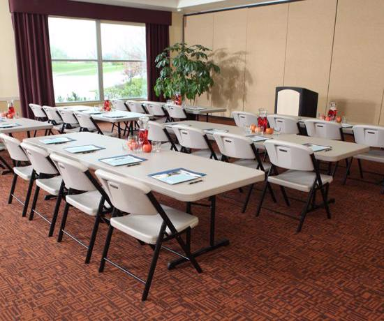 Lifetime 18-Pack 8 ft Professional Grade Folding Table - Almond (880250) - Great to use for seminar and big events.