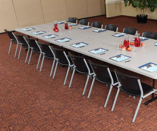 Lifetime 4-pack 8ft Professional Grade Tables - Putty (480127) - Ideal for rental companies, convention centers, hotels, outdoor events, catering companies