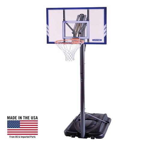 Lifetime 44 In. Portable Basketball Hoop (71546) - Great and can easily be moved on your desired location.