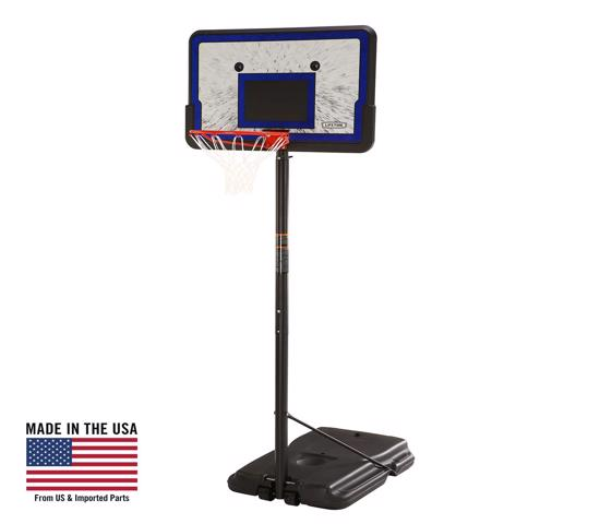 Lifetime 44 in. Pro Court Portable Basketball Hoop (1221) - Great beginner's system