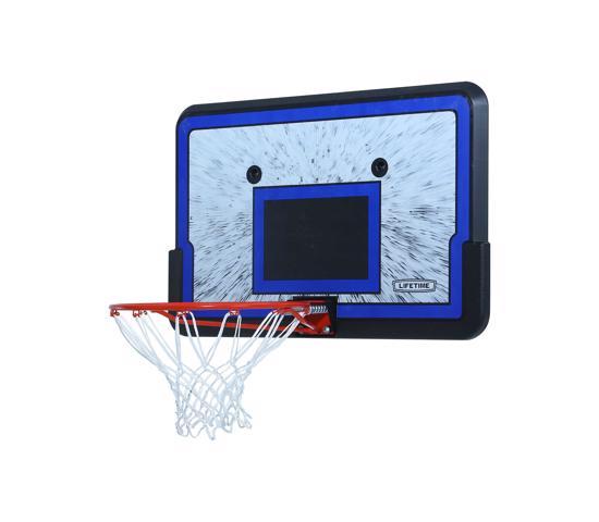 Lifetime 44 in. Rectangular Impact Basketball Backboard, Slam-It Rim (3241) - Great deal for on a baskeball combo.