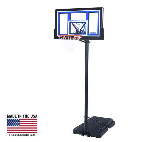 Lifetime 48 in. Courtside Portable Basketball Hoop (1531) - Enjoy hours of fun with friends and family in the comfort of your own home.