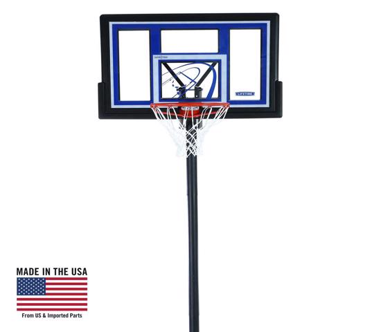 Lifetime 48 in. Courtside Portable Basketball Hoop (1479) -  Bring the arena to your home with a residential basketball