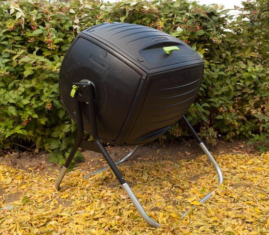 Lifetime 50 Gallon Compost Tumbler Kit (60076) - Great compost tumbler for garbage.