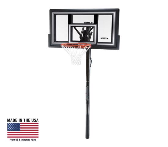 Lifetime 50 in. In-Ground Basketball Hoop - Shatter Proof & Action Grip (1084) -  Perfect option for beginning and seasoned players alike