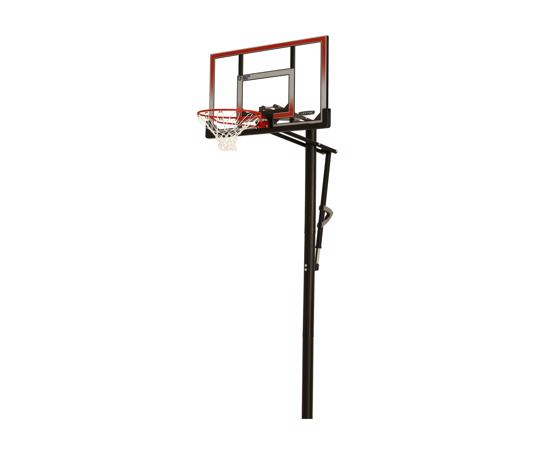 Lifetime 50 in. In-Ground Shatter Proof Easy Lift Basketball System (71799) -  Perfect option for beginning and season players alike