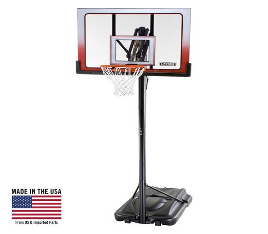Lifetime 52 in. Portable Basketball Hoop (1558)  - Ideal place is in your yard or driveway.