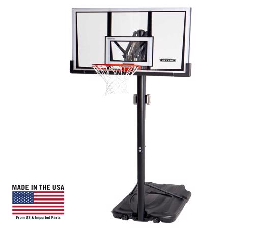 Lifetime 52 in. Portable Basketball Hoop (90061) - Great investment, built for fun and built to last.